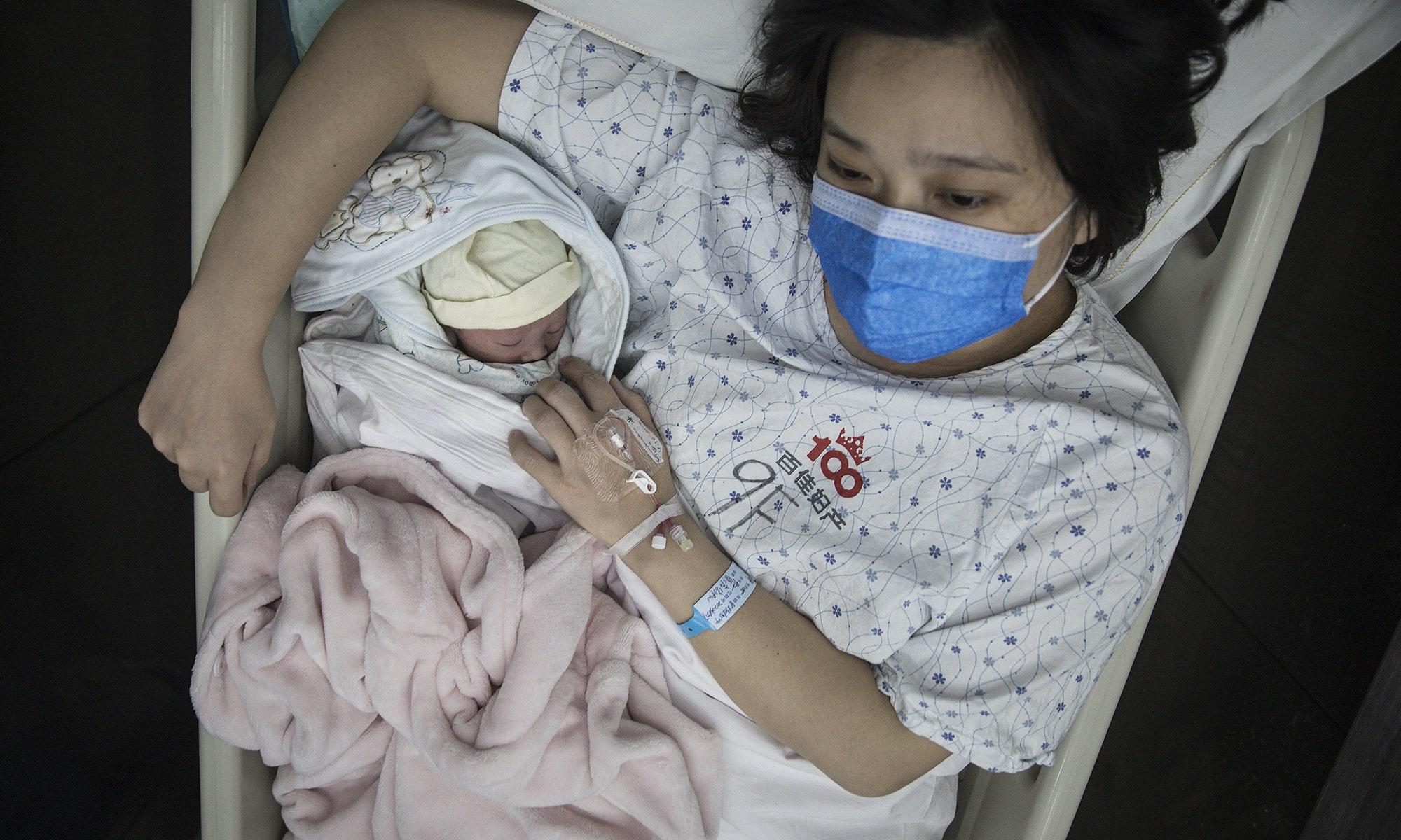 Gravidă afectată de coronavirus