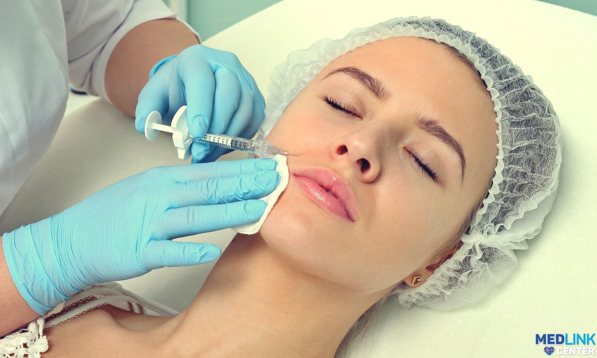 tratament botox riduri expresie aspect natural clinica medlink craiova